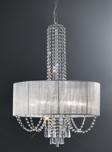 Franklite FL2304/6 Chrome Pendant Light